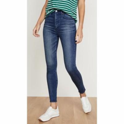 マウジー MOUSSY VINTAGE レディース ジーンズ・デニム ボトムス・パンツ Willows Rebirth Skinny Jeans Blue