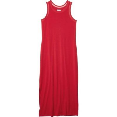 コロンビア Columbia レディース ワンピース マキシ丈 ワンピース・ドレス Slack Water Knit Maxi Dress Red Lily