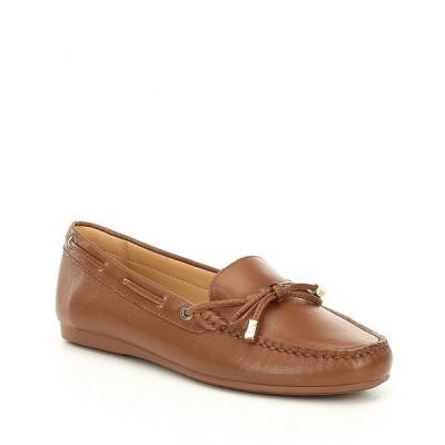 マイケルコース レディース サンダル シューズ MICHAEL Michael Kors Sutton Moc Bow Detail Loafers Luggage