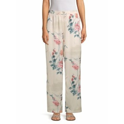 リー&ヴィオラ レディース パンツ Floral-Print Pants