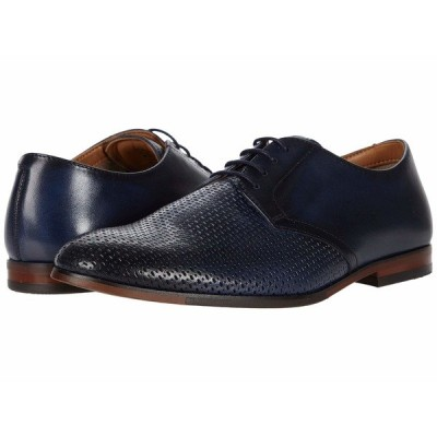 スティーブ マデン オックスフォード シューズ メンズ Elixer Oxford Navy Leather