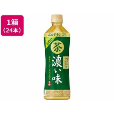 伊右衛門 緑茶 濃い味 600ml×24本 サントリー