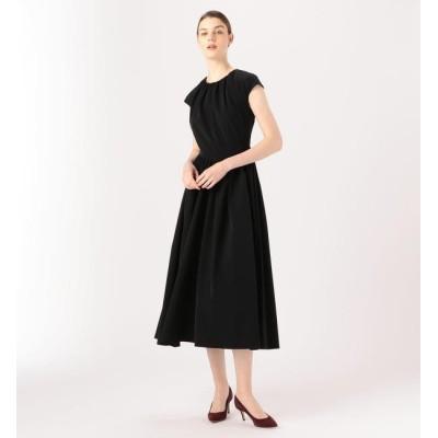 【トゥモローランド/TOMORROWLAND】 BAUME The Black Contemporary ギャザードドレス