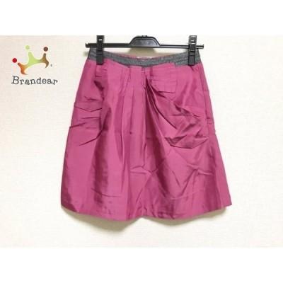 アプワイザーリッシェ Apuweiser-riche スカート サイズ2 M レディース 美品 ピンク               スペシャル特価 20191028