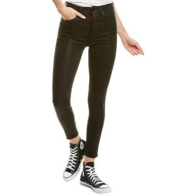 アリス アンド オリビア カジュアルパンツ ボトムス レディース alice + olivia Good Black High-Rise Ankle Skinny Leg Jean -