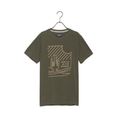 WOOLRICH ウールリッチ メンズ Tシャツ WOTEE1133 JR80 DESERT TEE 4161 GRAPE LEAF カーキ