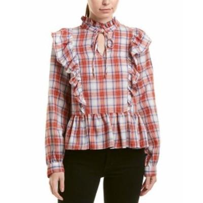 ファッション トップス Lucca Couture Indiana Peplum Blouse