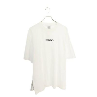ヴェトモン VETEMENTS 19AW UAH20TR611 フロントロゴパッチTシャツTシャツ HJ12 中古