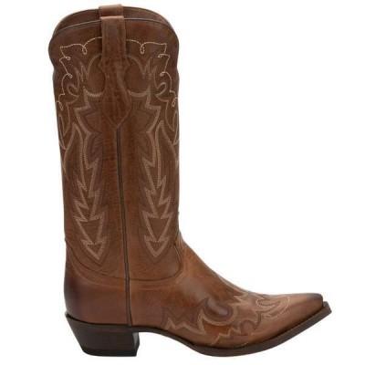 ジャスティンブーツ レディース ブーツ・レインブーツ シューズ Elina Square Toe Cowboy Boots