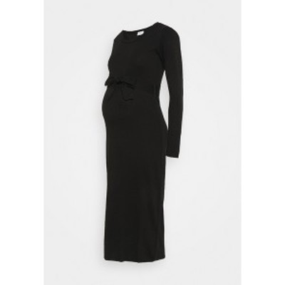 ママリシャス レディース ワンピース トップス MLALESSANDRA DRESS - Jersey dress - black black