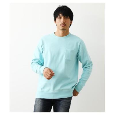 (RODEO CROWNS WIDE BOWL/ロデオクラウンズワイドボウル)裾リブL/S Tシャツ/メンズ MINT