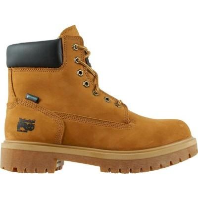 ティンバーランド ブーツ&レインブーツ シューズ メンズ Timberland PRO Men's Direct Attach 6'' Waterproof 200g Steel Toe EH Work Boots Wheat