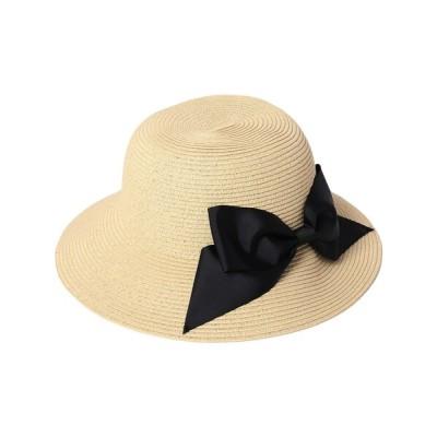 SHOO・LA・RUE / 【抗菌ブレ-ド】リボンハット WOMEN 帽子 > ハット