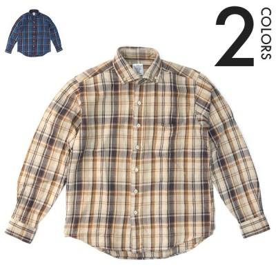 Che-st/チェスト チェックビエラ ボタンダウンシャツ 22015