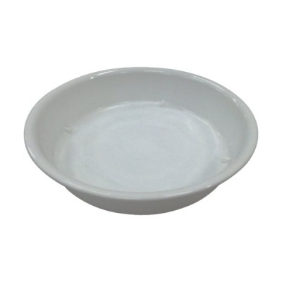 IRIS 157410 鉢受皿中深型 ホワイト 7号 1枚