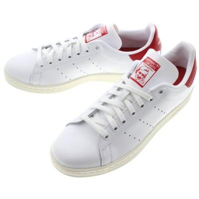 アディダス adidas スニーカー スタンスミス STAN SMITH フットウェアホワイト/オフホワイト/スカーレット FV4146