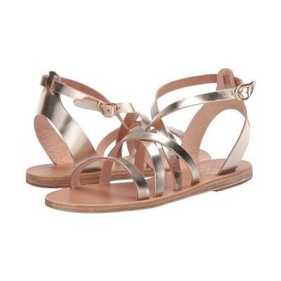 Ancient Greek Sandals レディース 女性用 シューズ 靴 サンダル Delia - Platinum/Platinum