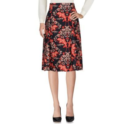 リュー ジョー LIU •JO 7分丈スカート ダークブルー 38 100% ポリエステル 7分丈スカート
