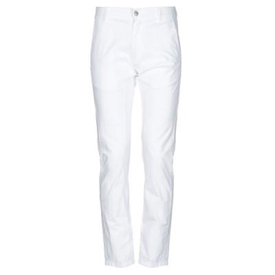 グレイ ダニエレ アレッサンドリーニ GREY DANIELE ALESSANDRINI パンツ ホワイト 28 コットン 98% / ポリウレタン