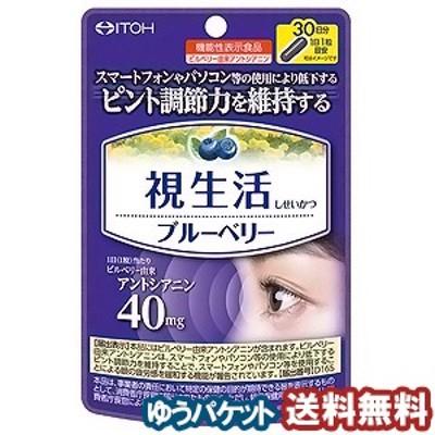 井藤漢方製薬 視生活ブルーベリー 30粒 メール便送料無料