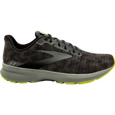 ブルックス Brooks メンズ ランニング・ウォーキング シューズ・靴 Launch 8 Running Shoes Black/Green
