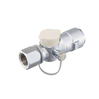 検査孔つきフレキUIガス栓 G331DP5−20