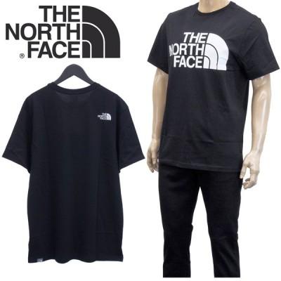 ザノースフェイス THE NORTH FACE Tシャツ 半袖 NF0A4M7X STANDARD SS TEE-JK3 TNF BLACK