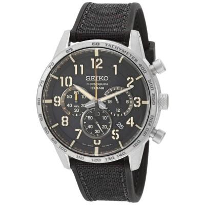 セイコー SEIKO 男性用 腕時計 メンズ ウォッチ クロノグラフ ブラック SSB367