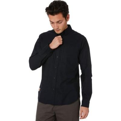グローブ Globe メンズ シャツ トップス foundation ls shirt Black