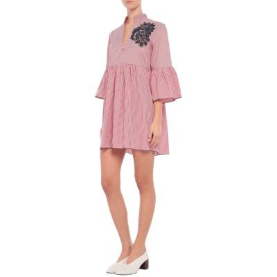 ブルマリン BLUMARINE ビーチドレス レッド 42 コットン 60% / ポリエステル 40% ビーチドレス