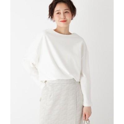tシャツ Tシャツ スーピマコットン ボートネックカットソー【WEB限定サイズ】