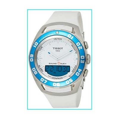 Tissot Men's 'Sailing Touch' Blue Dial Stainless Steel/Rubber Multifunction Watch T056.420.21.041.00【並行輸入品】