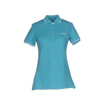 ロイ ロジャース ROŸ ROGER'S ポロシャツ ターコイズブルー S コットン 100% ポロシャツ