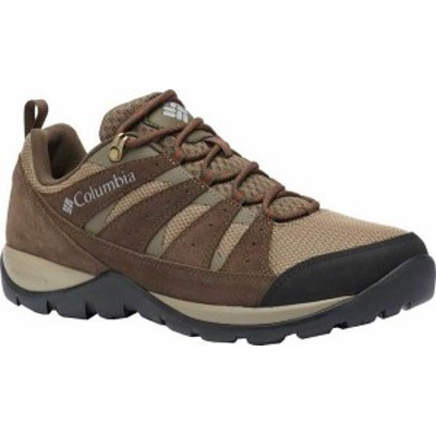 コロンビア メンズ スニーカー シューズ Men's Columbia Redmond V2 Hiking Shoe Pebble/Dark Adobe