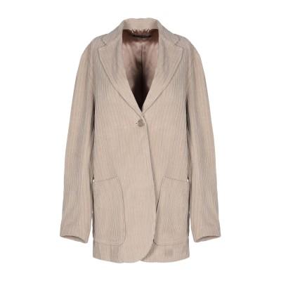 EUROPEAN CULTURE テーラードジャケット ベージュ XXS コットン 83% / ポリウレタン® 10% / レーヨン 7% テーラー