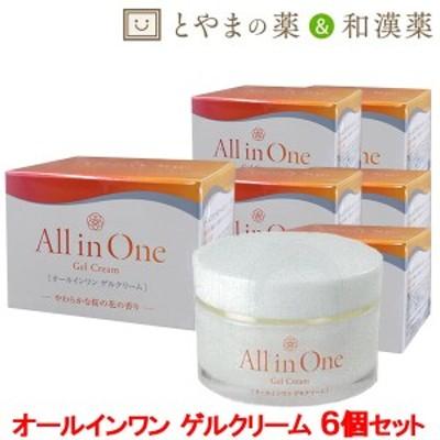 オールインワンゲルクリーム 50g 6個セット | 化粧水 保湿 クリーム セラミド 和漢植物 トウキ ジオウ 美容 ゲル ジェル αリポ酸 オール