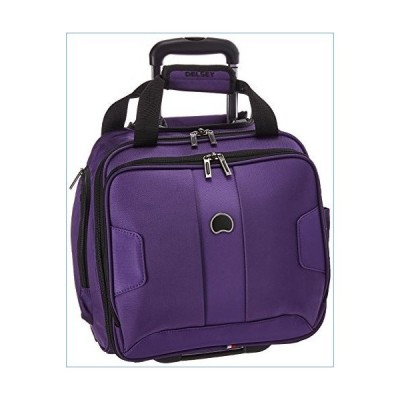 DELSEY Paris Sky Max 2.0 Softside Luggage Carry-on Under-Seater, 2 Wheels, Purple, 15 Inch並行輸入品