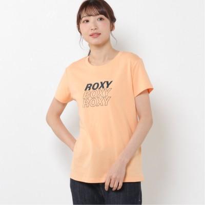 レディース 半袖ロゴプリントTシャツ(ロキシー/ROXY)
