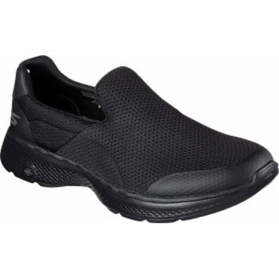 スケッチャーズ メンズ スニーカー シューズ Men's Skechers GOwalk 4 Incredible Slip-On Black