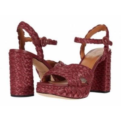 Kate Spade New York ケイト・スペード レディース 女性用 シューズ 靴 ヒール Disco Raffia Pinot Noir【送料無料】