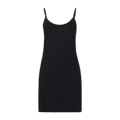 パコ ラバンヌ PACO RABANNE ミニワンピース&ドレス ブラック 38 レーヨン 98% / ポリウレタン 2% ミニワンピース&ドレス