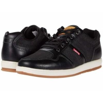 Levis(R) Shoes リーバイス メンズ 男性用 シューズ 靴 スニーカー 運動靴 Oscar 2 Mills Black【送料無料】