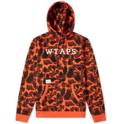 ダブルタップス WTAPS メンズ パーカー トップス Design College Hoody Orange