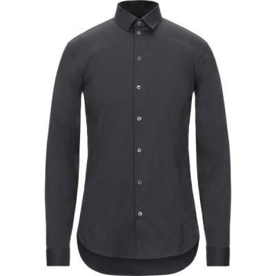 パトリツィア ペペ PATRIZIA PEPE メンズ シャツ トップス solid color shirt Bright blue