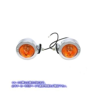 【取寄せ】Bullet Marker Lamp Set Wyatt Gatling V-TWIN 品番 33-1431  (参考品番: )  Vツイン アメリカ USA