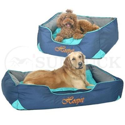 ペットベッド 大型犬用 スクエア型 犬用ベッド 耐噛み 耐摩耗 湿気遮断 滑り止め 全体取り外し 洗える ぺットクッション ペットマット