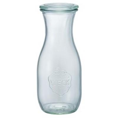 weck WECK ウェック キャニスター ガラス ジュースジャー 500 ml WE-764 保存 容器 保存容器 耐熱ガラス 密閉 保存瓶 おしゃれ キッチン