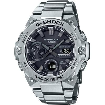 カシオ メンズ腕時計 ジーショック GST-B400D-1AJF ソーラーウオッチ Bluetooth対応 G-STEEL 小型モデル メタルバンド CASIO G-SHOCK 新品 国内正規品