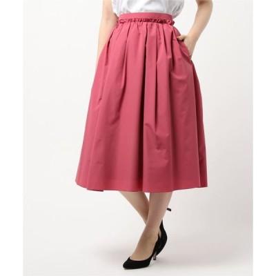 スカート タックギャザースカート