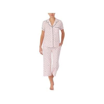 ケイトスペード Modal Jersey Cropped PJ Set レディース 部屋着 パジャマ Bows
